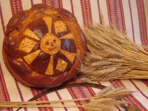 Каравай из озимой пшеницы сорта Царичанка